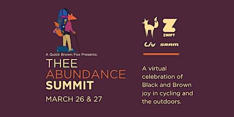 Thee Abundance Summit tickets