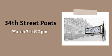 Virtual Poetry Reading: 34th Street Poets tickets