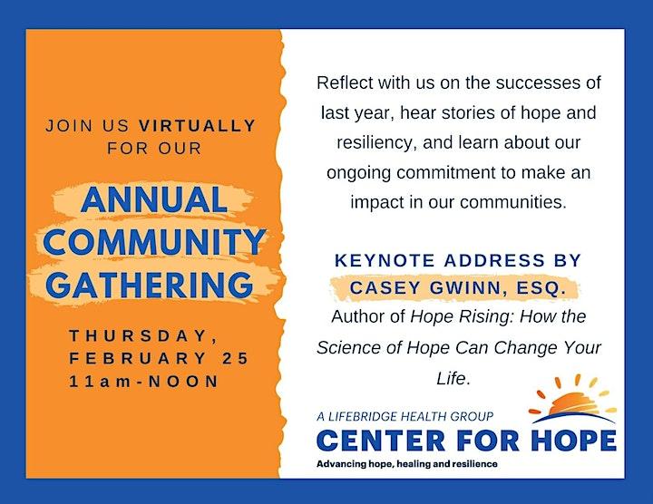 Annual Community Gathering image