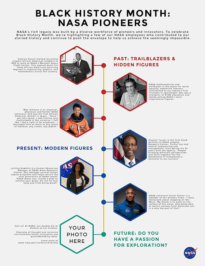 Celebrating Black History Month w/ NASA Internships image