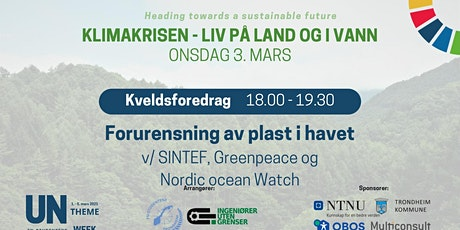 UN Theme Week 2021 -  Forurensning av plast i havet tickets