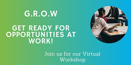TWI Workshop -G.R.O.W-Get Ready For Opportunities at Work! tickets