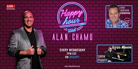 Virtual Happy Hour with Alan Chamo  | featuring Comedian Dave Burleigh tickets