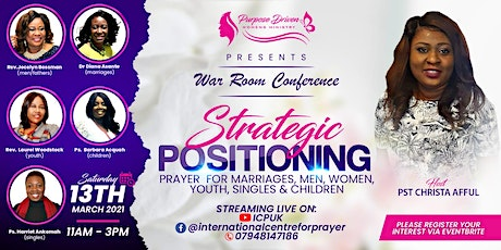 WAR ROOM Conference 2021 tickets