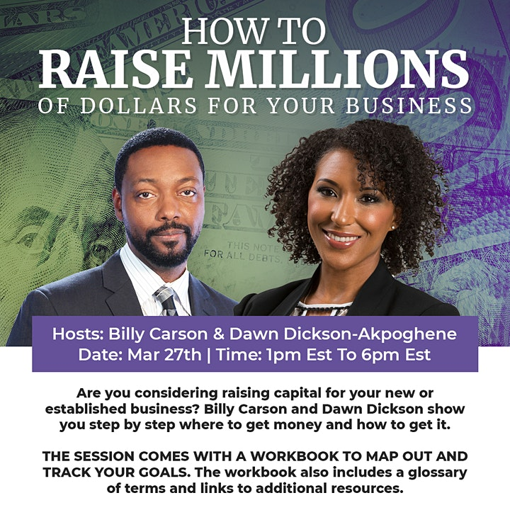 HOW TO RAISE MILLIONS OF DOLLARS FOR YOUR BUSINESS image