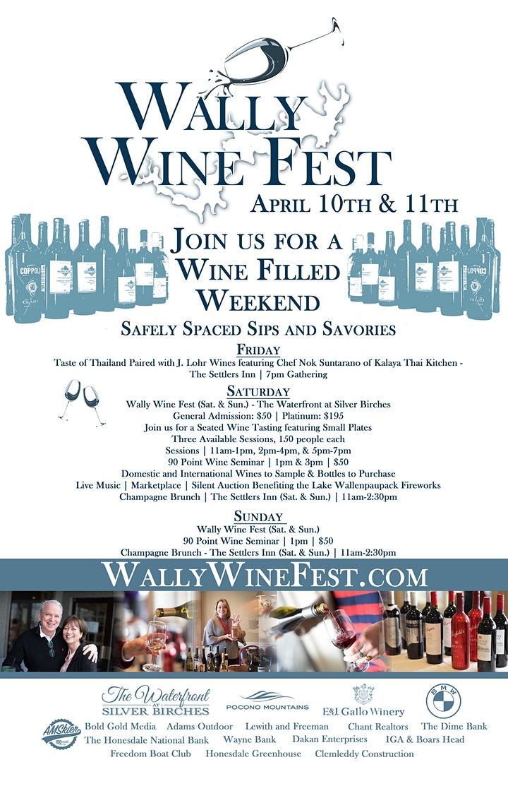 Wally Wine Fest at The Waterfront at Silver Birches image