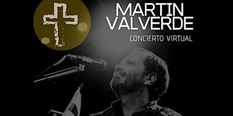 Concierto Virtual MARTÍN VALVERDE entradas