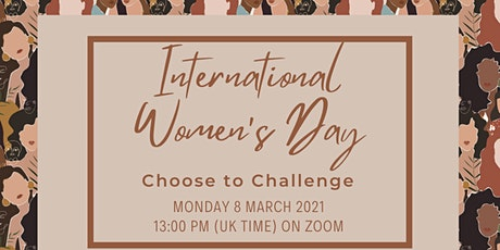 IWD 2021: Choose to Challenge tickets