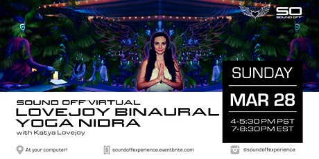 Virtual Lovejoy Binaural Yoga Nidra (3/28) tickets