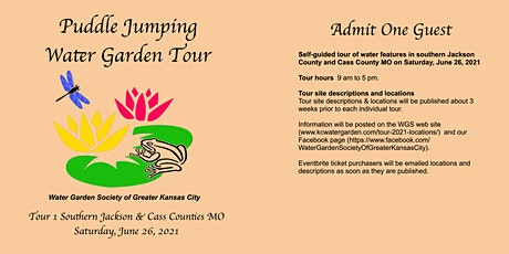 Puddle Jumping Water Garden Tour June 26 tickets