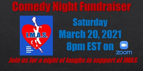 IMAS Virtual Comedy Night Fundraiser tickets
