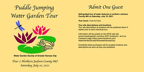 Puddle Jumping Water Garden Tour July 10 tickets