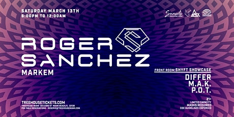 Sunsets @ Treehouse Miami w/ Roger Sanchez tickets