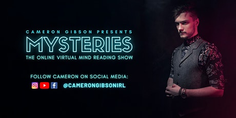 Mysteries - The Online Virtual Mind Reading Show tickets