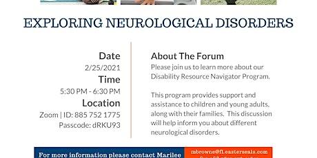 Exploring Neurological Disorders tickets