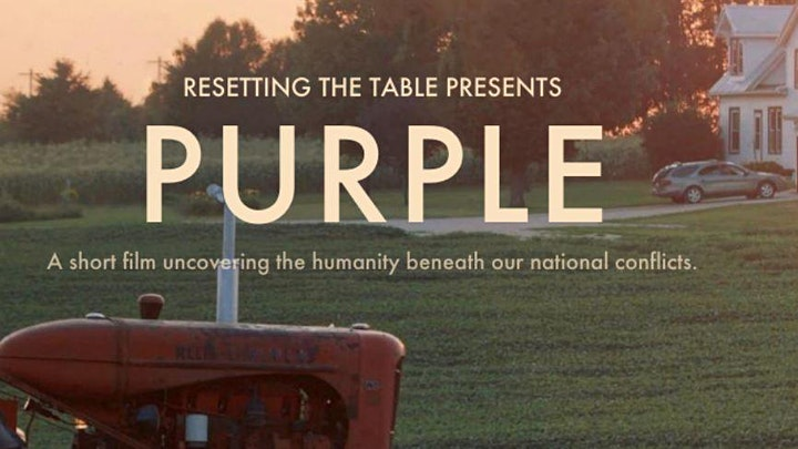 Purple: A Virtual Short Film Screening and Discussion image
