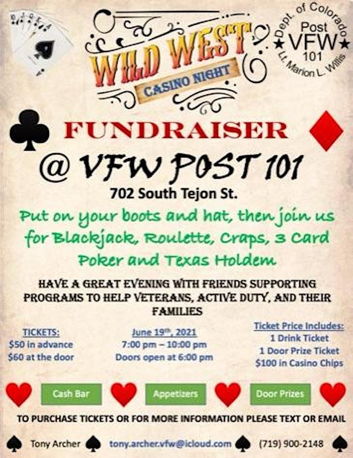 Wild West Casino Night Fundraiser image