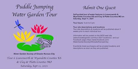 Puddle Jumping Water Garden Tour September 11 tickets