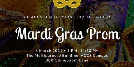ACCS Mardi Gras Prom 2021 tickets