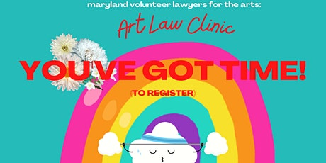 Art Law Clinic, April 2021! tickets