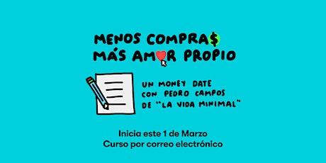 Money Date: Menos Compras Más Amor Propio entradas
