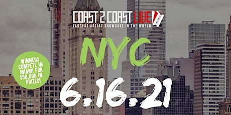 Coast 2 Coast LIVE Showcase NYC - Artists Win $50K In Prizes tickets