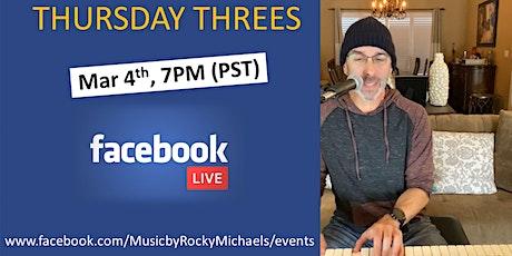 Thursday Threes- Livestream tickets