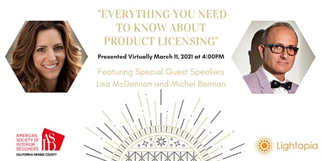 "ASID OC Presents ""Everything you need to know about product licensing"" tickets"