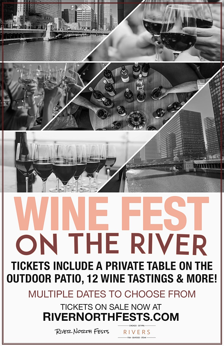 Wine Fest on the River - An Outdoor Tasting Experience image