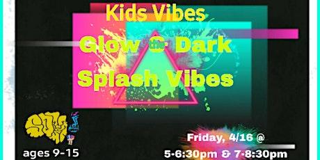 Kid's Glow & the Dark Paint Night tickets