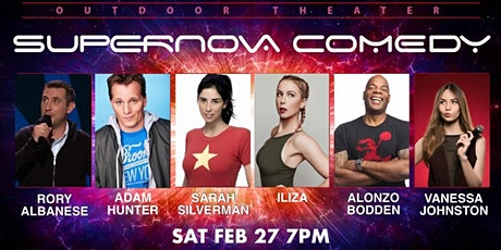 SARAH SILVERMAN ILIZA ALONZO BODDEN RORY ALBANESE LIVE OUTDOOR COMEDY SHOW tickets
