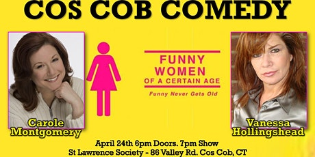 Funny Women of a Certain Age in Cos Cob! tickets