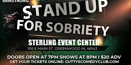Gutty's Presents: Stand Up For Sobriety tickets