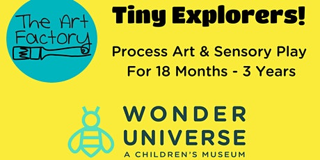 Tiny Explorers! Toddler Art & Sensory Play - Free 1st Class tickets