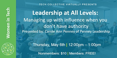Leadership at All Levels tickets