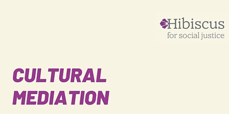 CULTURAL MEDIATION - report launch by Hibiscus tickets