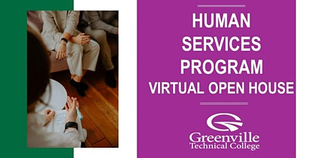 Human Services Virtual Open House at Greenville Technical College tickets