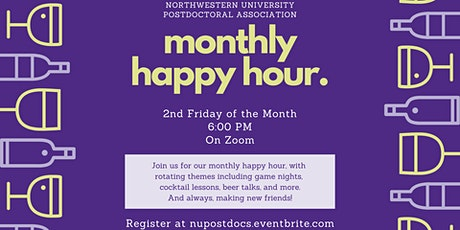 NUPA Monthly Happy Hour tickets