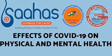 Effects of COVID-19 on Physical and Mental Health tickets