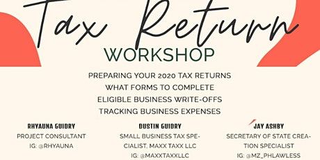 WHAT TO DO TAX RETURN WORKSHOP tickets