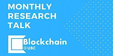 Blockchain@UBC March  Research Talk - Dr. Oriol Caudevilla tickets