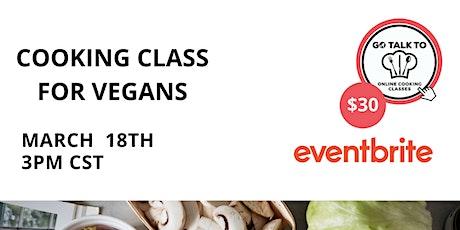 Curso Especial Para Veganos ingressos