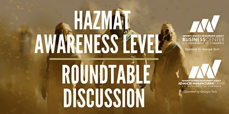 Hazmat Awareness Level Roundtable Discussion tickets