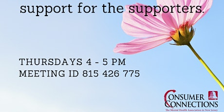 Peer Workforce Support Group tickets
