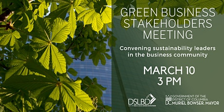 Green Business Solutions Stakeholders Group tickets