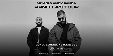Miyagi & Andy Panda | London |29 October 2021 tickets
