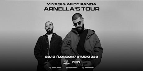 Miyagi & Andy Panda | London |29 October 2021 tickets