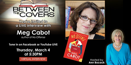 Between The Covers Virtual Interview with Meg Cabot Tickets