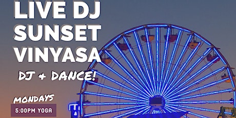 Live DJ Sunset Vinyasa on the Santa Monica Pier tickets