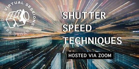 Shutter Speed Techniques tickets